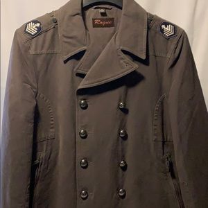 🆕 Rogue Military Coat in Slate Sz. Med.